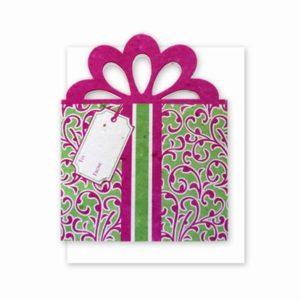 Fushia Gift Card Holder
