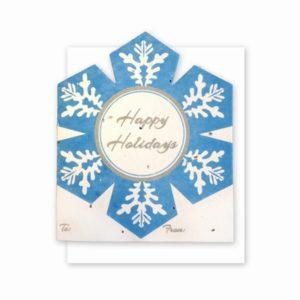 Snowflake Gift Card Holder