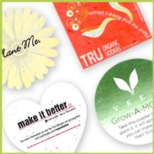 Plantable Coasters