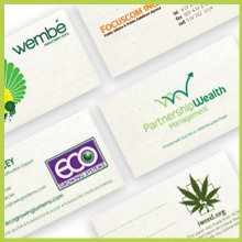 Hemp Heritage Business Cards